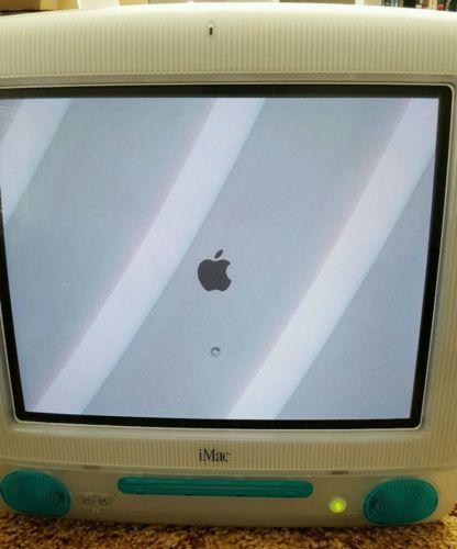 vintage apple iMac g3 m5521 computer only works boots rare vintage