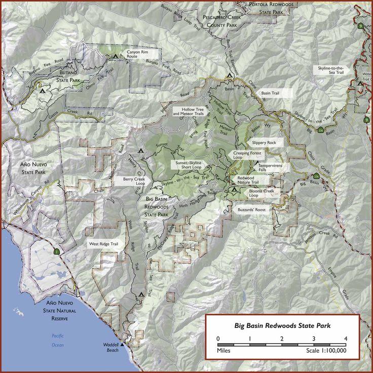 Hikes - Big Basin Redwoods State Park