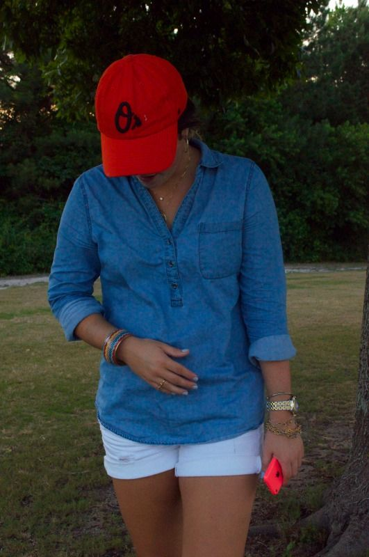 What To Wear To A Baseball Game! Go Orioles! #TheClassySouth