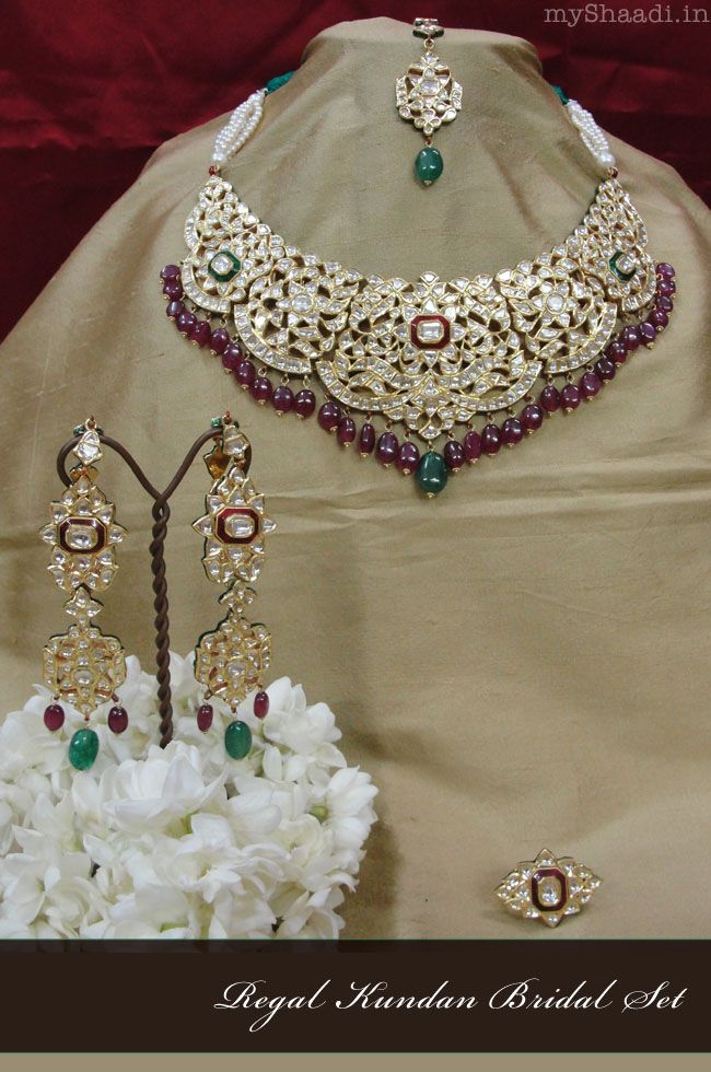 Classic Bridal Jewellery For Your Wedding