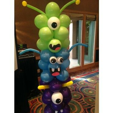 Best 25 Balloon Tower Ideas On Pinterest