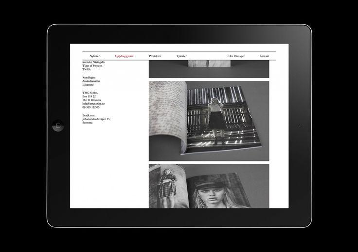 Henrik Nygren—Design — Hemsida