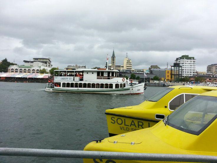 Valdivia transporte fluvial sustentable.