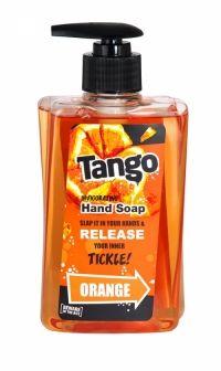 Tango Invigorating Hand Soap 350ml Orange Beware of the bite! Slap it in your hands & release your inner tickle!