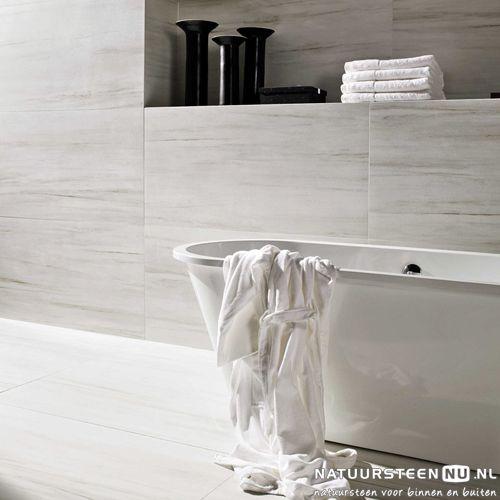 Marmi Classico Bianco Nestos Inspiratie Keramiek - NatuursteenNu