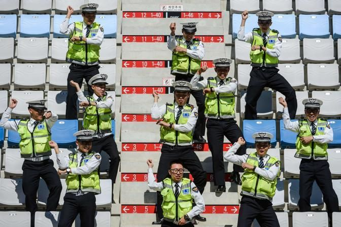 This is the police we want (Afp)