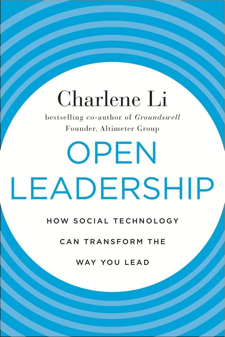 Charlene Li does a great job of laying out exactly how leadership needs to  change in this 'open' world