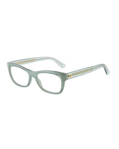 ed6bc2ddc8 Square Plastic Optical Glasses
