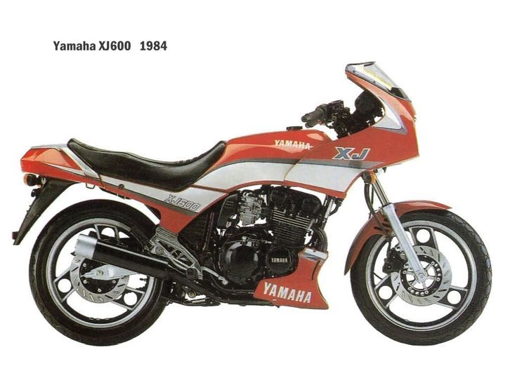 Yamaha XJ600Yamaha XJ600 Engine - 598cc, 4 stroke dohc Power - 72bhp Top Speed - 130mph Produced - 1984-1991 MPG - 50mpg weight - 209kg (460lb).