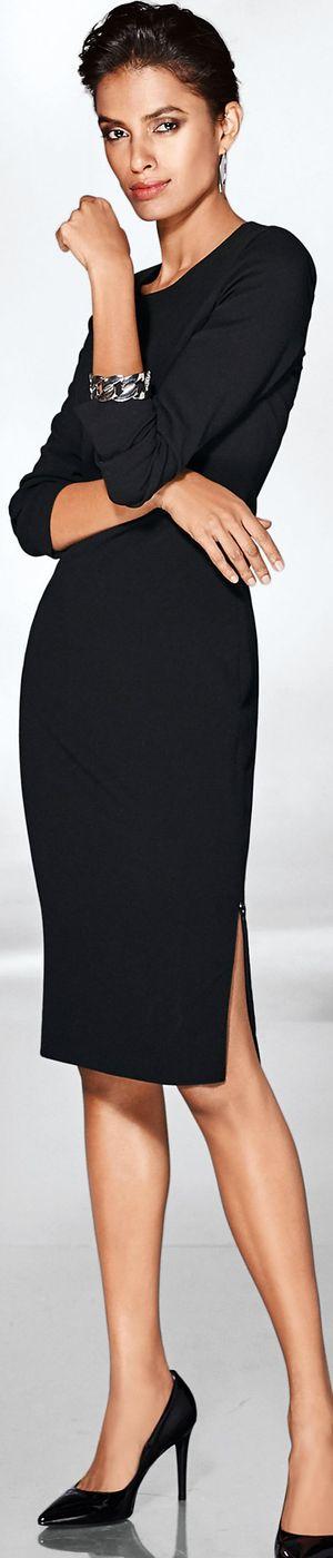 Madeleine Black Dress