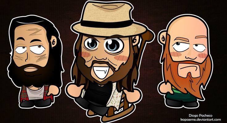 the wyatt family wallpaper | Bray Wyatt and Family INC - WWE Chibi Wallpaper by kapaeme on ...