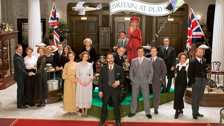 Jeremy Piven (Entourage) stars as the American upstart entrepreneur who taught England how to shop in Mr. Selfridge. Season 3 of Mr. Selfridge airs Sunday, March 29-May 17, 2015, on MASTERPIECE on PBS.