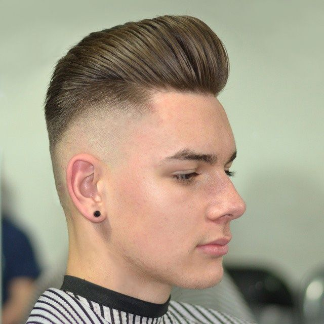Pomade Hairstyles zero fade loose ivy league on my boy natebpeters styled with imperial matte pomade hairstyle Lookgood Feelgood So Kieronthebarber Get The Pomade You
