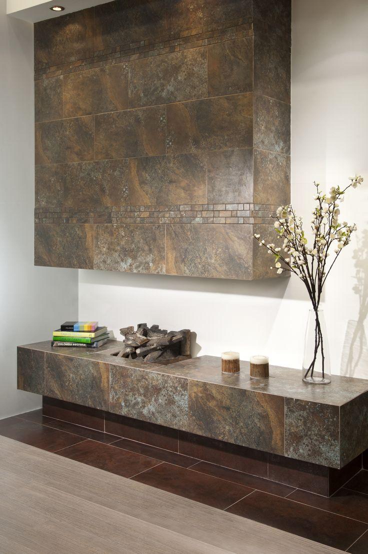 Las texturas y colores combinan perfectamente para dar un ambiente sobrio y elegante.