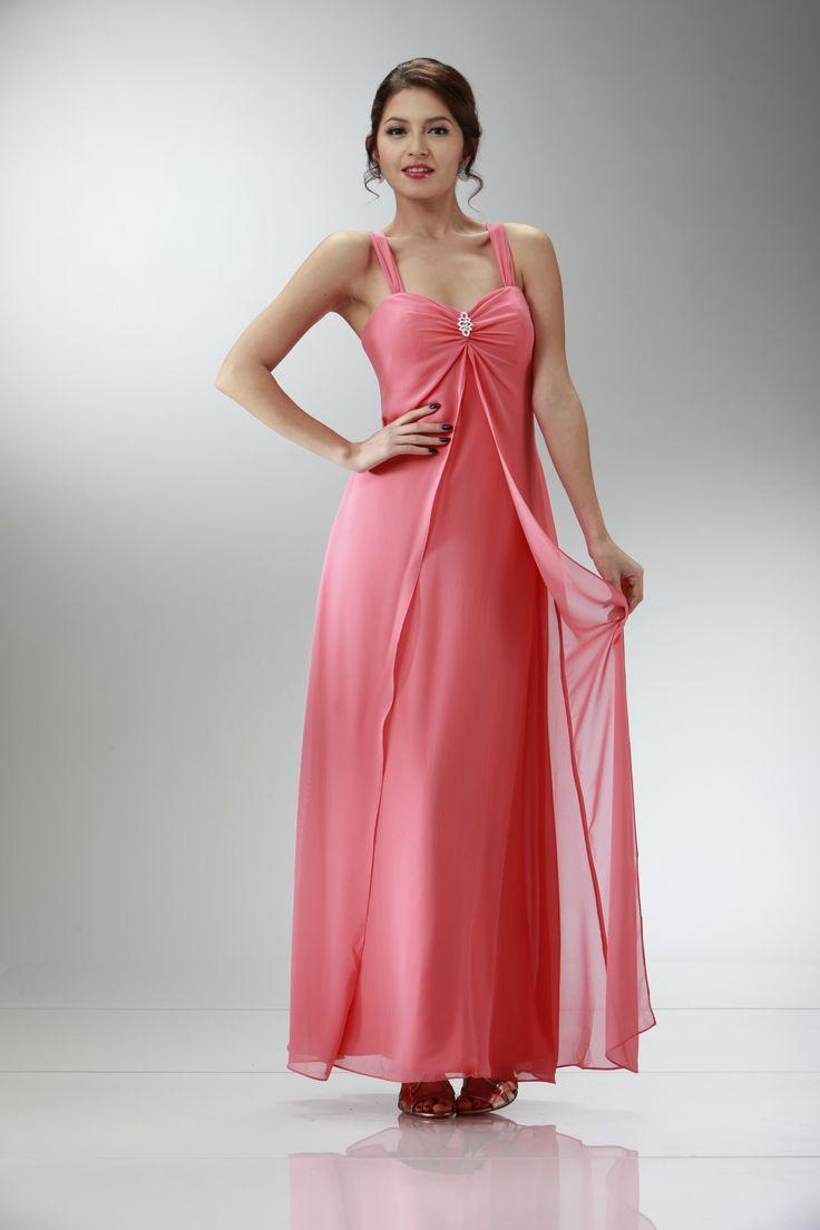 Moderno Vestidos De Dama De Donna Morgan Componente - Ideas de ...