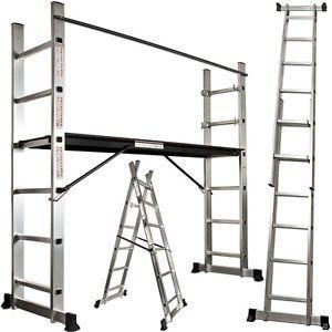 Platform-scaffold-ladder-multi-purpose-combination-extension-ladders-aluminium
