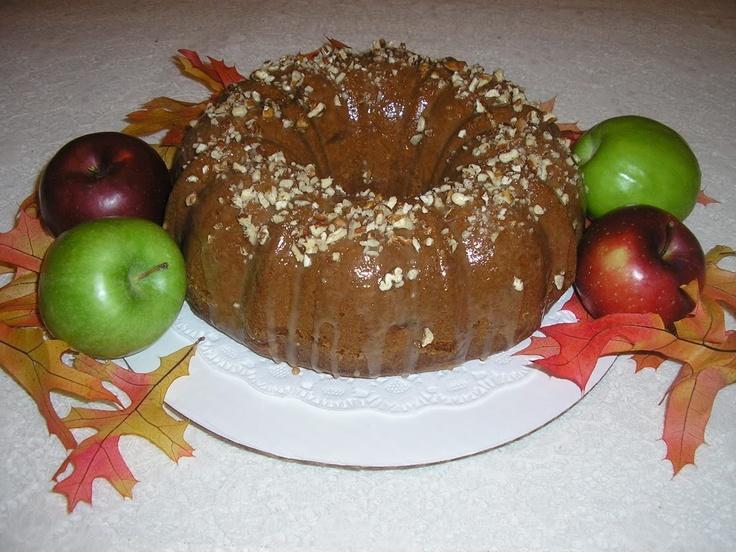 Apple Pound Cake #food #recipe #cookbook