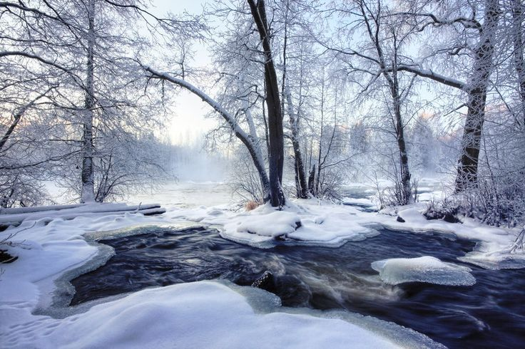 Laukaa, Finland Freezing......... by closer-to-heaven.deviantart.com