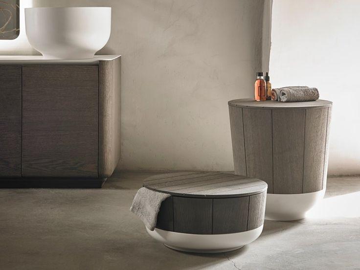 Bathroom stool ORIGIN   Bathroom stool by INBANI