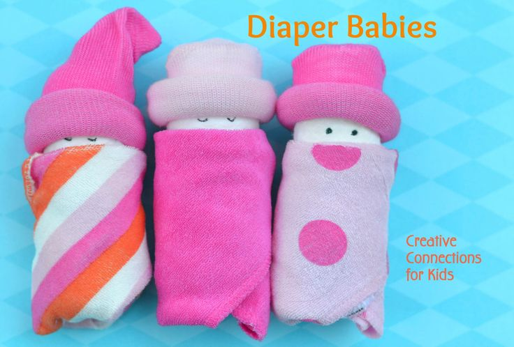 Diaper Babies from Creative Connections for Kids.  Total cuteness!