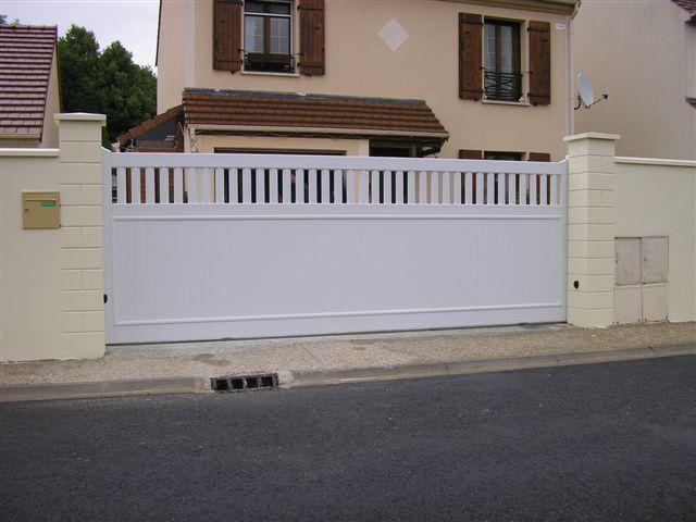 Portail #PVC Modèle Axo Gamme PVC Pinterest