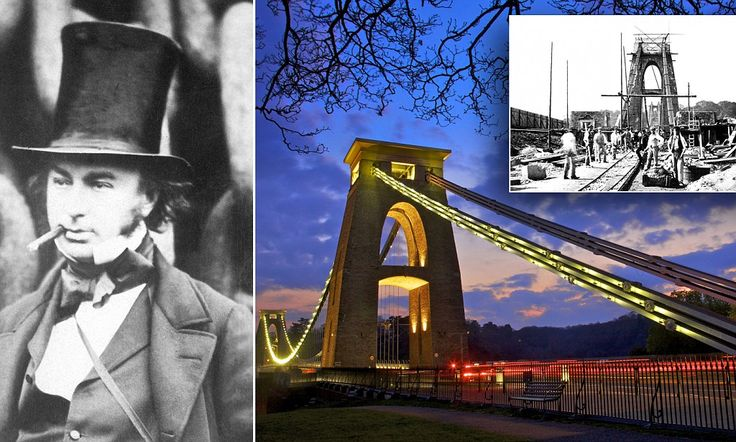 It was designed for horse-drawn traffic, yet takes 12,000 vehicles a day: Brunel's 149-year-old Clifton Suspension Bridge should get World Heritage status, says Bristol's new mayor
