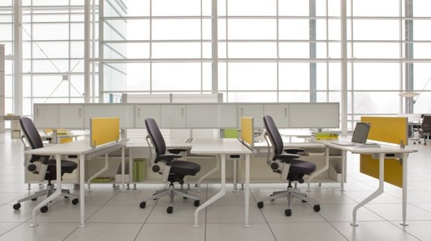 CSCAPER Steelcase Inc Silver Certified Interior Design Office Workstations
