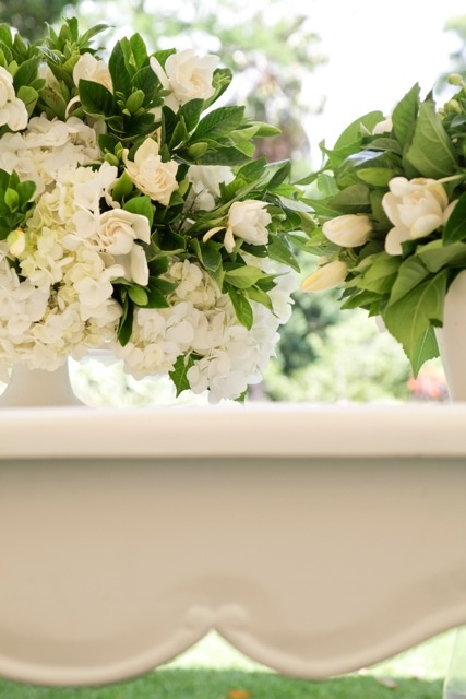 whites and greens, classical and modern