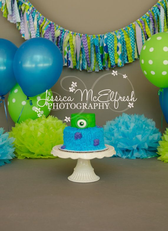 121 best monsters inc party images on pinterest for Monster themed fabric