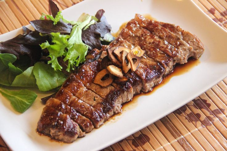 <p>Japanese Beef Steak is very close to western steaks except for the sauce.  The sauce is a soy sauce based sauce, a little bit like Teriyaki sauce but maybe less sweet.  Even though Japanese people typically don't eat big steaks as often as people in the US, the dish is still one of …</p>