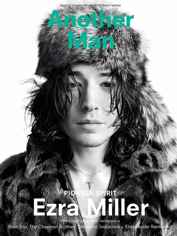 Ezra Miller for Another Man A/W13