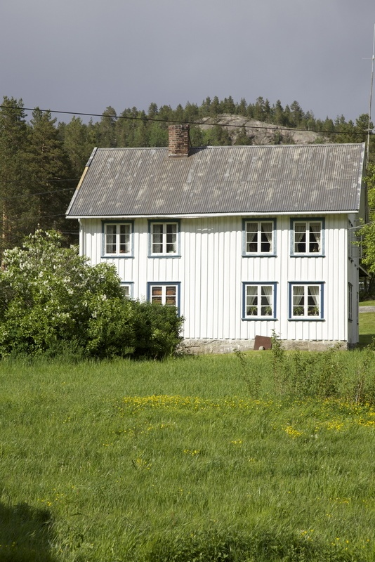 Norwegian farm house ♡