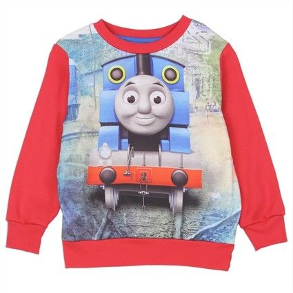 Sizes 2T 3T 4T Made From 60% Cotton 40% Polyester Label Thomas & Friends Officially Licensed Thomas And Friends Apparel  Free Shipping