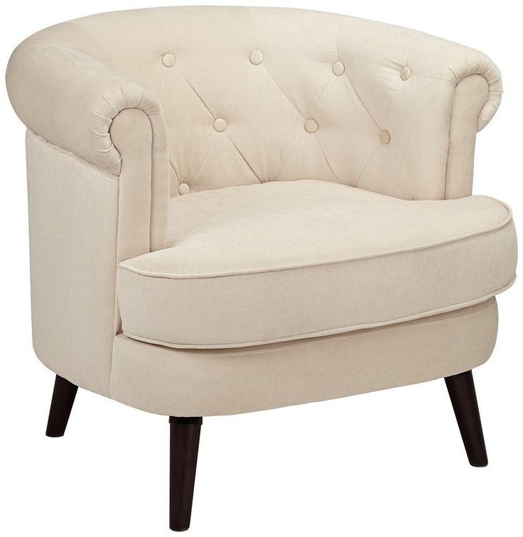 Best Amazon Com Sauder 418930 Elwood Accent Chair Beige 400 x 300
