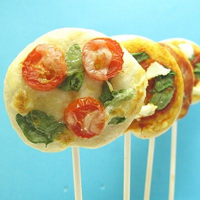 #Pizza Pops - Toppings are endless! #quick