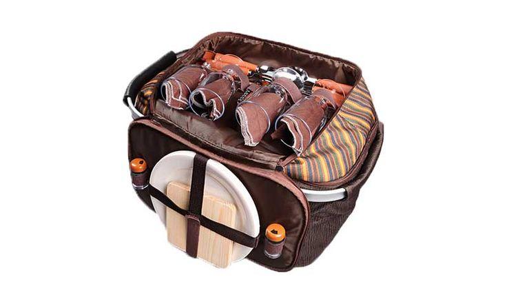 Любите семейные поездки на природу, но не знаете куда можно упаковать продукты питания так, чтобы они не испортились? Корзина-кулер для пикника на четверых Пикник-Квартет — это замечательная, дизайнерская сумка, сделанная из качественных материалов, оснащена термоотсеком, кой не позволит вашей еде испортится даже после многочасовой прогулки...