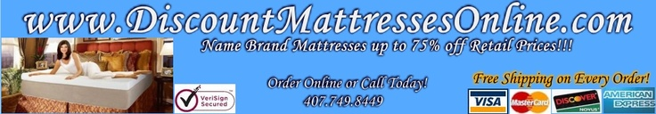 Discountmattressesonline.com offers the best deals in discount mattress sales.  Click on our site to see the instant savings on discount mattresses and mattress sales!