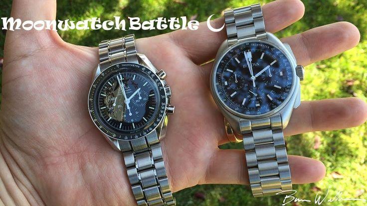 Bulova Moonwatch vs Omega Moonwatch - YouTube