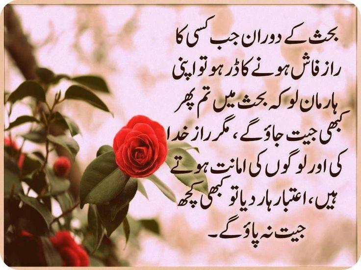 Sabaa  | Urdu quotes, Urdu words, Poetry quotes