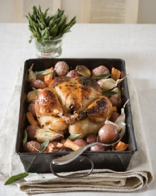 Maple and Passion Fruit Glazed Chicken: Great recipes and more at http://www.sweetpaulmag.com !! @sweetpaul