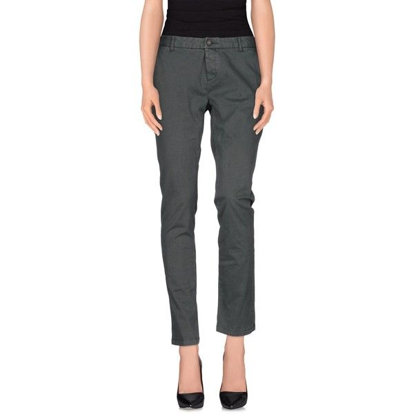 Superdry Casual Trouser ($24) ❤ liked on Polyvore featuring pants, military green, zip pants, straight leg trousers, multi pocket pants, olive green pants and straight leg pants