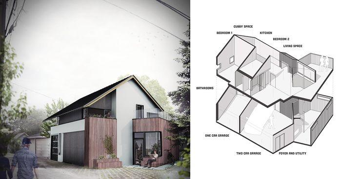 Withrow Laneway House, Studio North