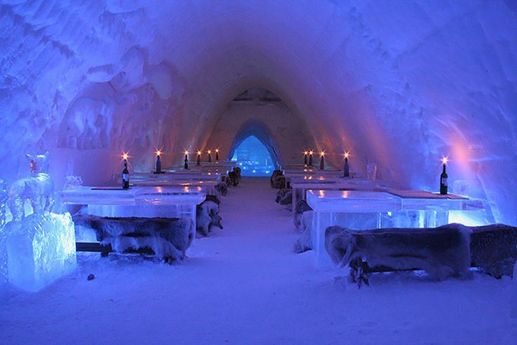 HBO nordic and finland snowvillage create 'game of thrones' inspired ice hotel