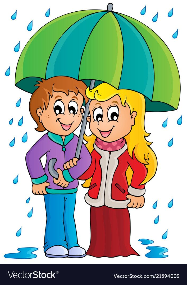 Rainy Weather Theme Image 1 Eps10 Vector Illustration Download A Free Preview Or High Quality Adobe Illustrator A Weather Theme Rainy Weather Animal Clipart