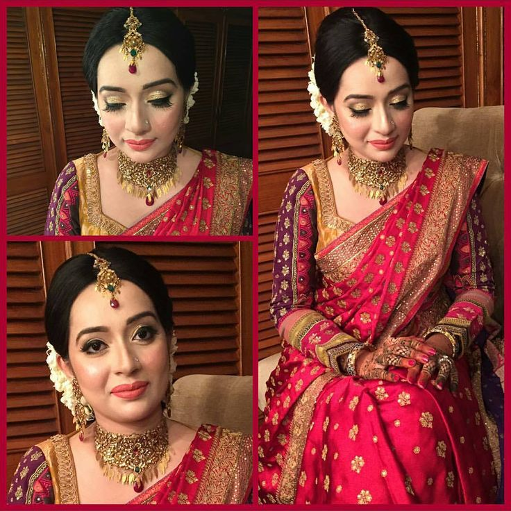 Makeup done by Amana Rahman Follow her @amanarahmanmakeup Saree by Ritu Kumar #bangladesh #bangladeshi #bangladeshibride #bangladeshiwedding #bangladeshi_bridalglam #asianbride #allthingsbridal #asianwedding #asianmakeupartist #bengalibride #desibride #bengaliwedding #desiwedding #weddingtheme #weddingideas #weddinginspiration #bridaljewelry #bridalmakeup #bridalhair #weddingwear #asianbridalmakeup #bridaloutfit