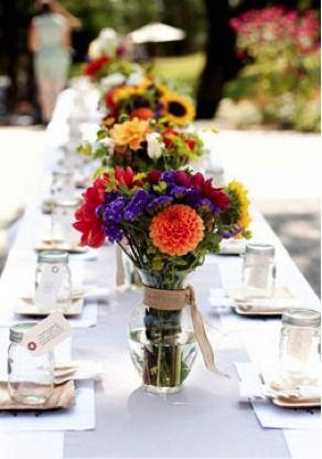 Ideas for a gorgeous 0utdoor DIY Wedding!