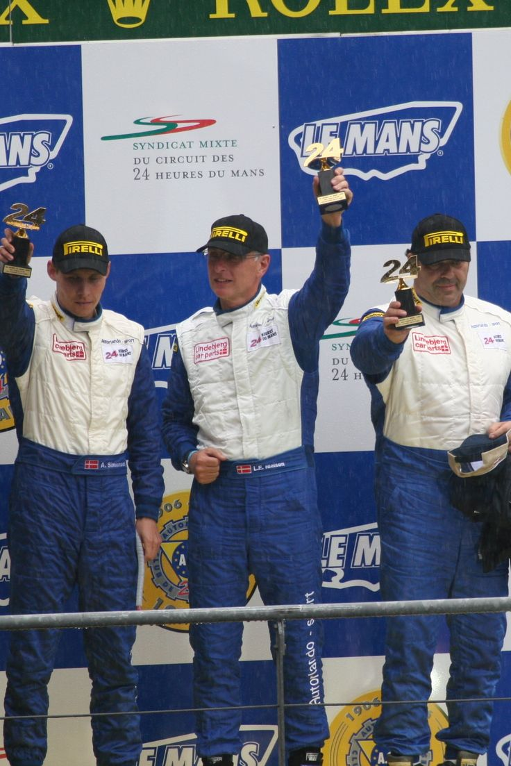 3rd place at the 2007 24 Hours of Le Mans, on debut.