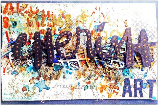 Project created by More Than Words DT member Arantzazu Sangrador for the June Mini Challenge using the word ART. More details at http://morethanwordschallenge.blogspot.ca/2016/06/june-mini-challenge.html #morethanwords #morethanwordschallenges #mtw