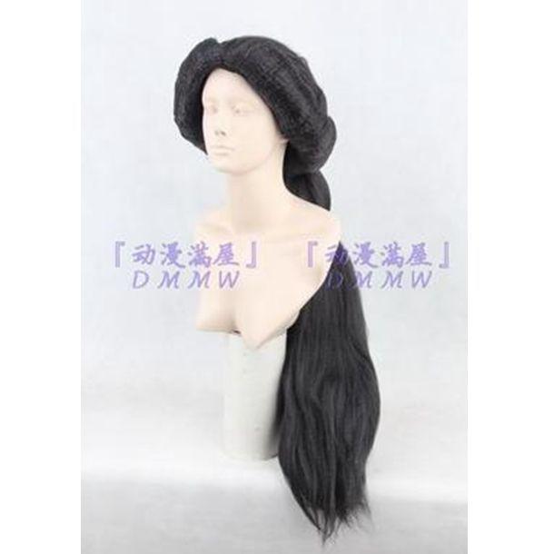 New Aladdin MAGI Princess Jasmine Disney Arabian Nights Black Fluffy Cosplay Wig #New #FullWig