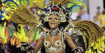Karneval in Rio: Farbe, Freude, Samba - eine Stadt im Karnevalsrausch
